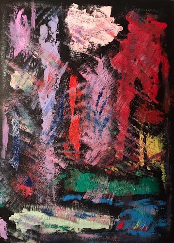 A Lee Brown, Unter Wasser, Abstraktes, Abstrakte Kunst