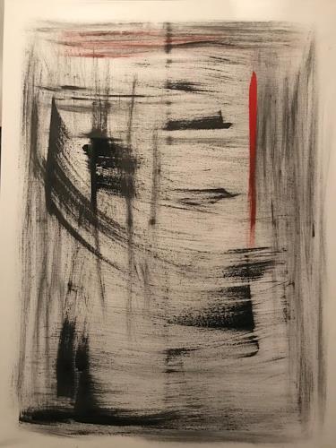 A Lee Brown, Pagoden, Abstraktes, Abstrakte Kunst