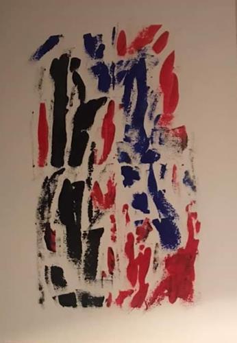 A Lee Brown, Der Antrag, Abstraktes, Abstrakte Kunst
