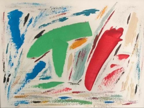 A Lee Brown, TI, Abstraktes, Abstrakte Kunst