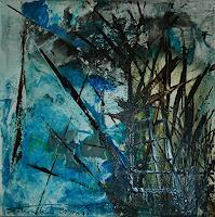 Uli-Schweitzer-Pflanzen-Baeume-Natur-Wald-Moderne-Expressionismus-Abstrakter-Expressionismus