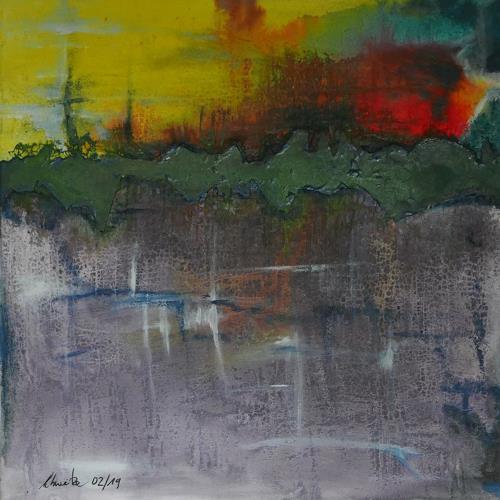 Uli Schweitzer, Aufgerissenes, Abstraktes, Abstraktes, Abstrakter Expressionismus, Expressionismus