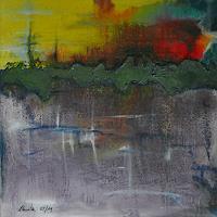 Uli-Schweitzer-Abstraktes-Abstraktes-Moderne-Expressionismus-Abstrakter-Expressionismus