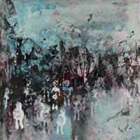 Uli-Schweitzer-Menschen-Abstraktes-Moderne-Abstrakte-Kunst