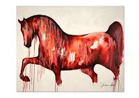 T. Stephan, Pferd