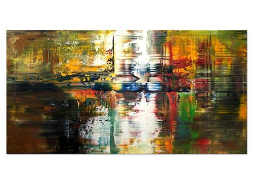 Thomas Stephan, Lebensnah, Abstraktes, Menschen, Abstrakter Expressionismus