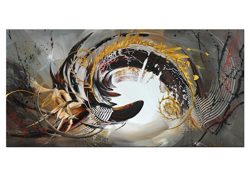 Thomas Stephan, Verzauberte Natur, Abstraktes, Natur, Abstrakter Expressionismus
