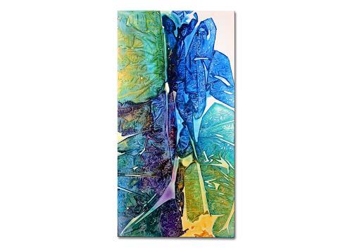 Thomas Stephan, Zuneigung II, Abstraktes, Gefühle, Abstrakter Expressionismus