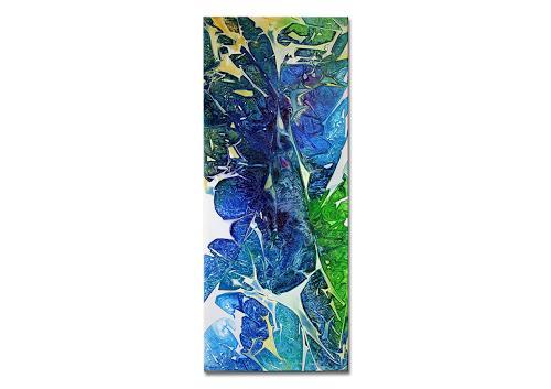 Thomas Stephan, Windy, Abstraktes, Natur: Luft, Abstrakter Expressionismus