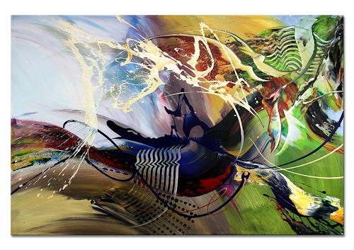 Thomas Stephan, Verwandlung, Abstraktes, Fantasie, Abstrakter Expressionismus, Expressionismus