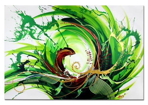 Thomas Stephan, Surviving, Abstraktes, Fantasie, Abstrakter Expressionismus, Expressionismus