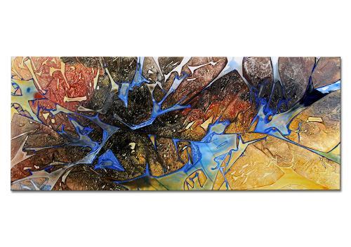 Thomas Stephan, Confused, Abstraktes, Gefühle, Abstrakter Expressionismus
