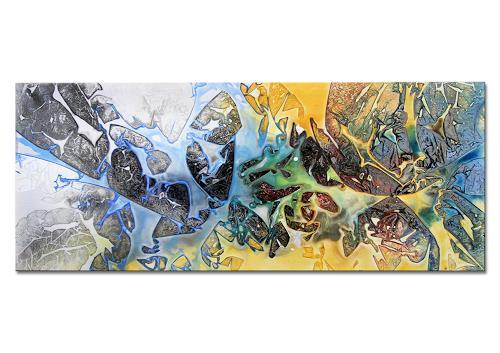 Thomas Stephan, Basic Beach, Abstraktes, Natur, Abstrakter Expressionismus