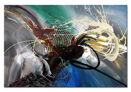 Thomas Stephan, Splash, Abstraktes, Fantasie, Abstrakter Expressionismus