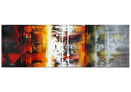 Thomas Stephan, Grenzgänge, Abstraktes, Gesellschaft, Abstrakter Expressionismus
