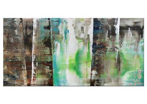 Thomas Stephan, Guten Morgen!, Abstraktes, Situationen, Neo-Expressionismus