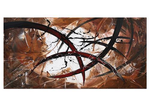 Thomas Stephan, Struggle, Gesellschaft, Abstrakter Expressionismus