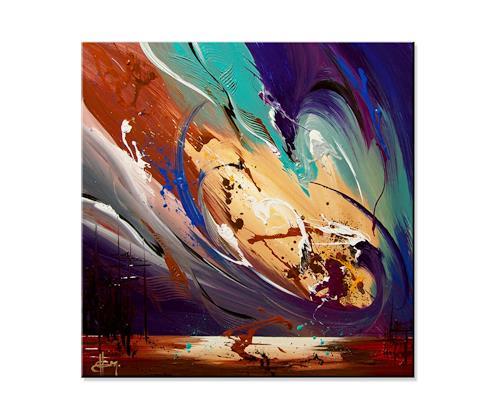 Thomas Stephan, Get Back, Abstraktes, Gefühle, Abstrakter Expressionismus