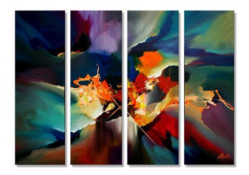 Thomas Stephan, Euphoria, Abstraktes, Gefühle, Abstrakter Expressionismus