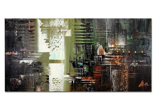 Thomas Stephan, Free V, Abstraktes, Gefühle, Abstrakter Expressionismus