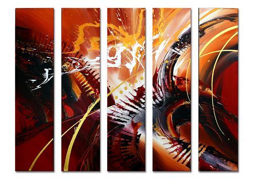 Thomas Stephan, Sambalitta II, Abstraktes, Fantasie, Abstrakter Expressionismus