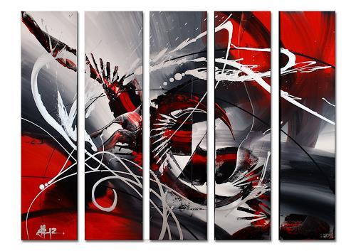 Thomas Stephan, Eternity, Abstraktes, Glauben, Abstrakter Expressionismus
