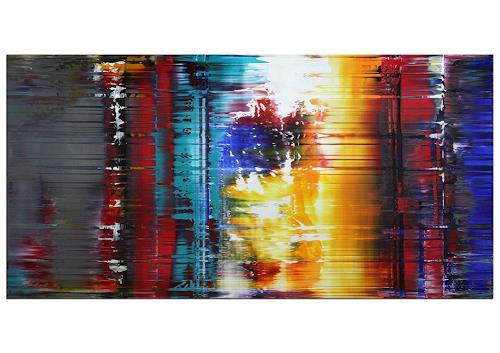 Thomas Stephan, Gedachtes Erleben, Abstraktes, Fantasie, Abstrakter Expressionismus
