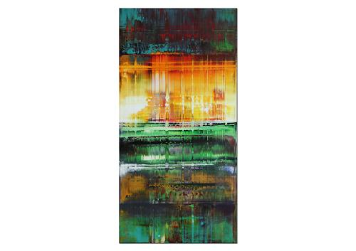 Thomas Stephan, Shallow Water, Abstraktes, Natur: Wasser, Abstrakter Expressionismus