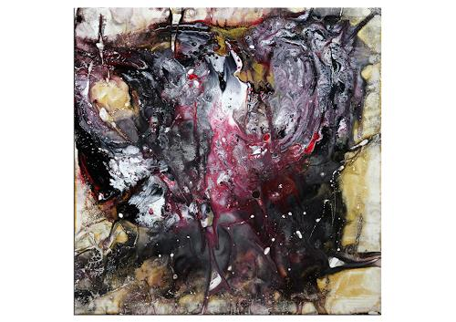 Thomas Stephan, Sleepwork, Abstraktes, Fantasie, Abstrakter Expressionismus