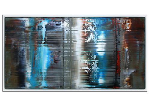 Thomas Stephan, Seelenpartner, Abstraktes, Menschen, Abstrakter Expressionismus