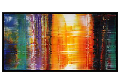 Thomas Stephan, Mission Universum, Abstraktes, Weltraum, Abstrakter Expressionismus