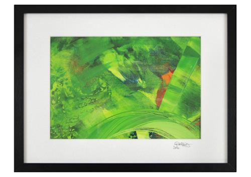Andreas Garbe, SATELLITE, Abstraktes, Weltraum, Abstrakter Expressionismus
