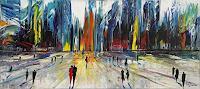 Andreas-Garbe-Menschen-Architektur-Gegenwartskunst-Neo-Expressionismus
