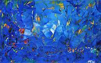 Andreas-Garbe-Abstraktes-Weltraum-Moderne-Expressionismus-Abstrakter-Expressionismus