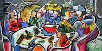Andreas-Garbe-Menschen-Gesellschaft-Moderne-Kubismus