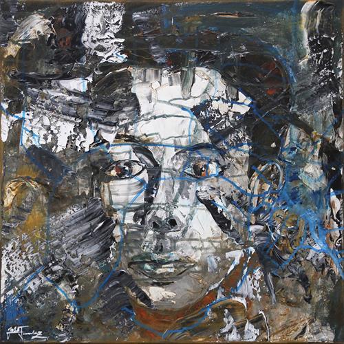Andreas Garbe, I'm real, Menschen: Mann, Menschen: Porträt, expressiver Realismus