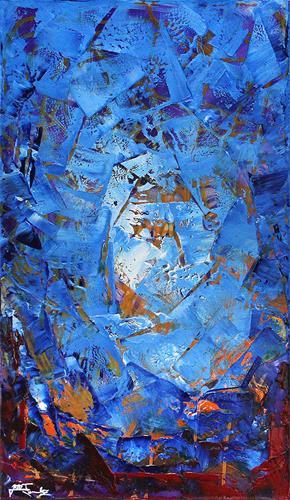 Andreas Garbe, Gegensätze I, Abstraktes, Fantasie, Abstrakter Expressionismus