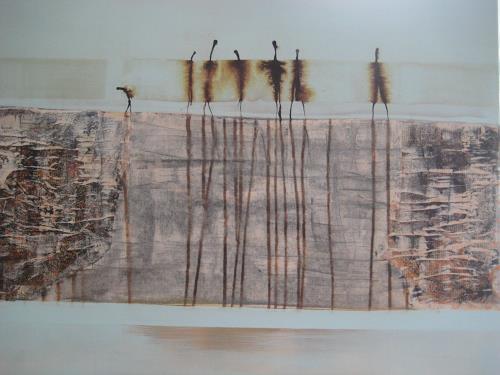 margarete hartmann, o.T, Abstraktes, Menschen, Gegenwartskunst, Expressionismus