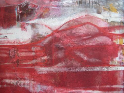 margarete hartmann, o.T, Abstraktes, Landschaft, Abstrakte Kunst, Abstrakter Expressionismus