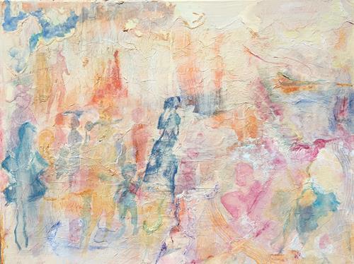 Ruth Loewenkamp, Übergang, Menschen, Abstrakte Kunst