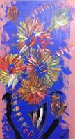 Marie-Ruda-Pflanzen-Abstraktes-Moderne-Expressionismus-Abstrakter-Expressionismus