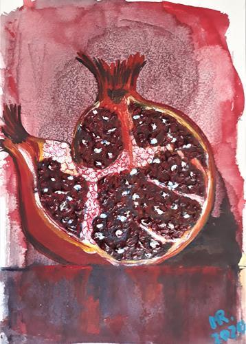 Marie Ruda, Geschmack des Granatapfels., Ernte, Pflanzen: Früchte, Moderne