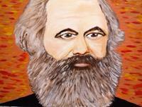 Marie Ruda, Im Studio-K.M.(Karl Marx).