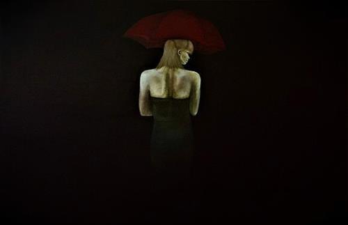 Gennady, Einsam gehen, Gefühle: Liebe, Abstrakte Kunst, Abstrakter Expressionismus