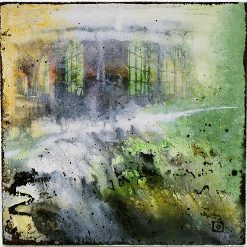 Silvia Plüss, O/T, Poesie, Abstrakte Kunst, Expressionismus