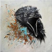 Sabrina-Seck-1-Tiere-Luft-Abstraktes-Gegenwartskunst-Gegenwartskunst