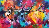 Sabrina-Seck-1-Abstraktes-Tiere-Land-Moderne-expressiver-Realismus