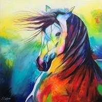 Sabrina-Seck-1-Fantasie-Tiere-Land-Moderne-Expressionismus