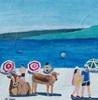 Peter Seiler, Kühe am Strand in Korsika