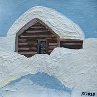 Peter-Seiler-Landschaft-Winter-Moderne-Konkrete-Kunst